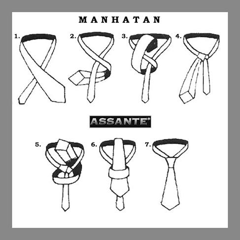 Kravatový Uzel Manhatan