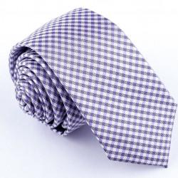 Slim fialová kravata Greg 99613