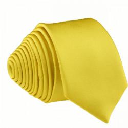 Žlutá kravata slim fit Romendik 99180