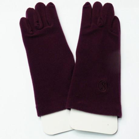 Fialové rukavičky Assante 89727