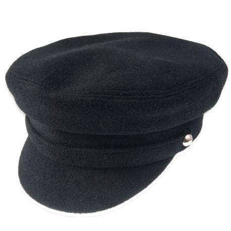 Černá kapitánka pánská čepice Tonak 85411