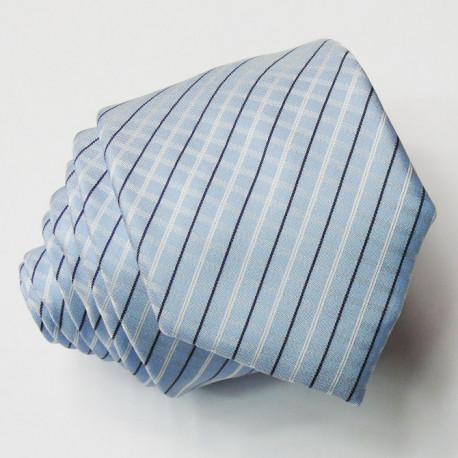 Modrá slim fit kravata Greg 99442