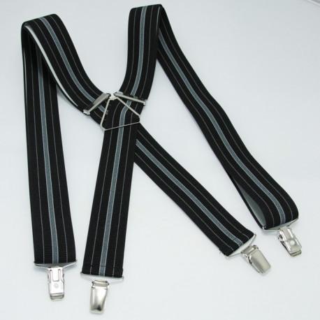 Černé pánské kšandy Assante 90101