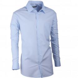 Pánská košile regular fit modrá Assante 30472