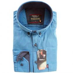 Modrá pánská košile Tonelli 110914