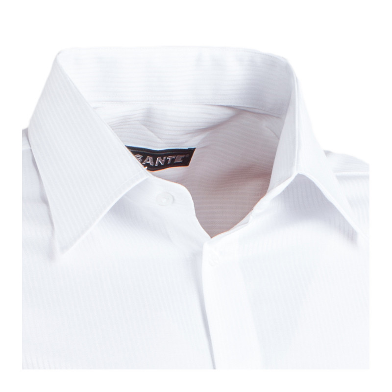 509265d31ae Bílá pánská košile non iron slim fit Assante 30007