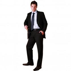 Černý pánský oblek společenský na výšku 176 - 182 cm faVorite 160635