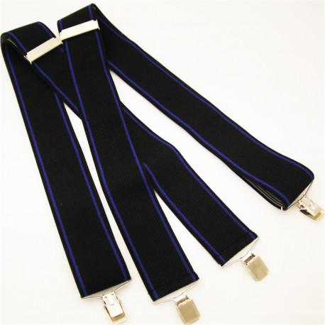 Černo modré kšandy Assante 90127