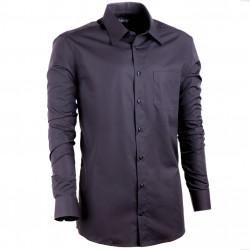 Černá pánská košile vypasovaná Assante 30108