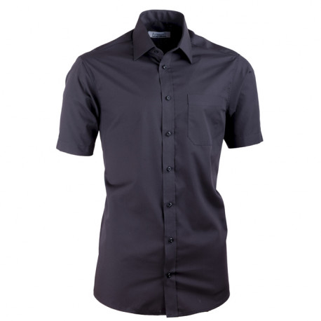 Černá košile vypasovaná Aramgad 40131