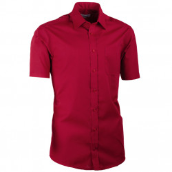 Bordová pánská košile vypasovaná Aramgad 40332