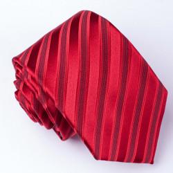 Červená pánská kravata Rene Chagal 93156