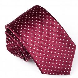 Pánská červená kravata Rene Chagal 93164