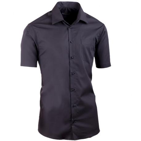Černá košile slim fit Assante 40115 671ba2979f