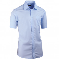 Modrá pánská košile vypasovaná Assante 40414