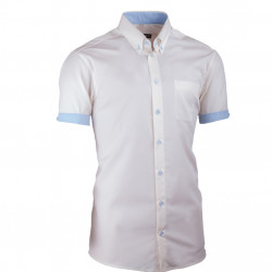 Šampaň pánská košile slim fit 100 % bavlna non iron Assante 40226
