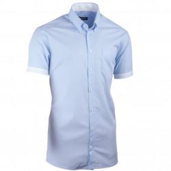 Modrá košile vypasovaná Assante 40416