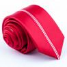 Červená kravata slim fit Greg 93165