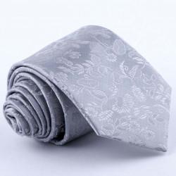 Šedá svatební kravata Greg 91188