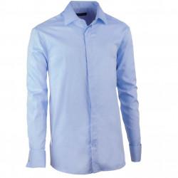 Košile na manžetový knoflíček regular blankytně modrá Assante 30422