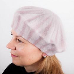 Růžový dámský elegantní baret Tonak 87222