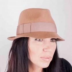 Béžový dámský klobouk Assante 86965