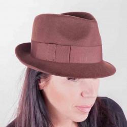 Hnědý dámský klobouk Assante 86969