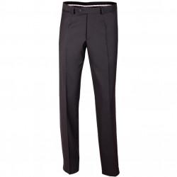 Extra prodloužené pánské černé kalhoty společenské Assante 60503