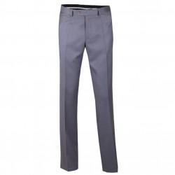 Prodloužené pánské společenské kalhoty šedé na výšku 182 – 188 cm Assante 60512