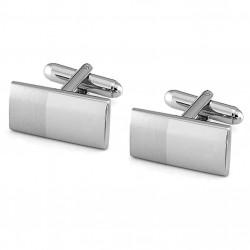 Manžetové knoflíčky stříbrné barvy Assante 90520