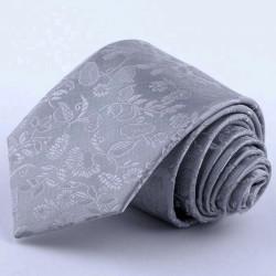 Svatební kravata šedá Greg 91204