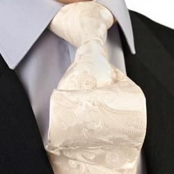 Vanilková svatební kravata Greg 92898