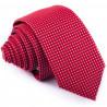 Bordó slim fit kravata Greg 93195