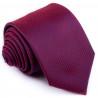 Bordó kravata vzorek Greg 93203