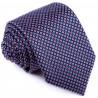 Luxusní kravata modročervená Greg 94272