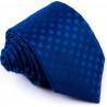 Modrá kravata čtverečky Greg 94276