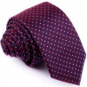 Luxusní kravata fialová světlý puntík Greg 96148