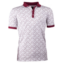 Bordo pánská polokošile s krátkým rukávem ,triko s limečkem Tony Montana 45025