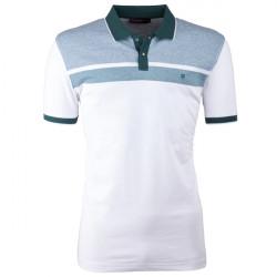 Zelená pánská polokošile s krátkým rukávem ,triko s limečkem Tony Montana 45031