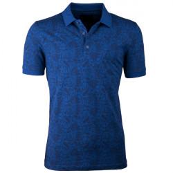 Modrá pánská polokošile s krátkým rukávem ,triko s limečkem Tony Montana 45032