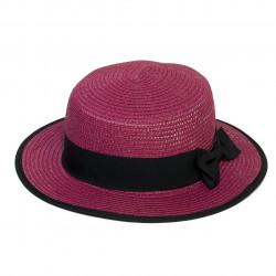 Letní klobouk barva fialová Assante 161220