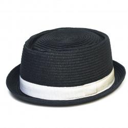 Letní klobouk barva černá Assante 161246