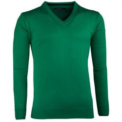 Zelený pánský svetr tenký Scot Sanders 167027