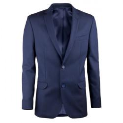 Prodloužené pánské sako modré Assante 60005