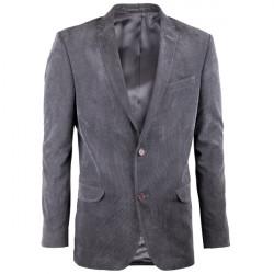 Prodloužené pánské sako šedé Assante 60006