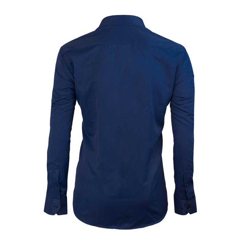 6c8ec184912 Prodloužená pánská košile modrá Assante 20607