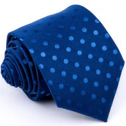 Puntíkovaná modrá kravata Greg 94302