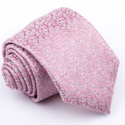 Růžová kravata Greg 96154