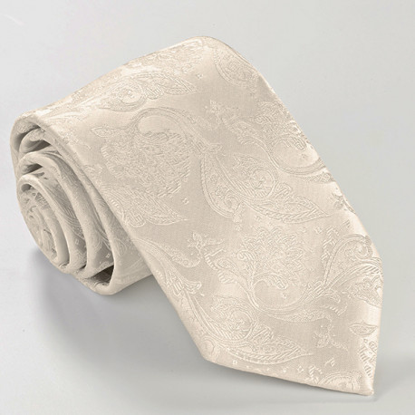 Svatební kravata šampaň Assante 92702