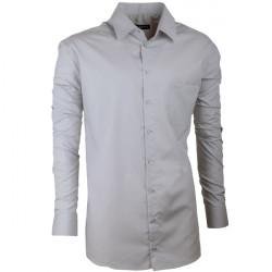 Nadměrná košile 100% bavlna šedá Assante 31098